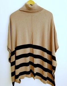 Chelsea and Theodore | Striped Cowl Neck Tunic